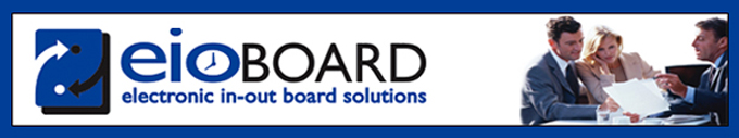 EIOBoard Electronic In-Out Board