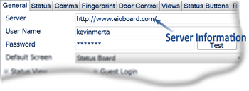 EIOBoard Electronic In Out Board - Kiosk Basic Sign In and Out