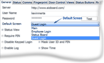 EIOBoard Electronic In Out Board - Guest Login