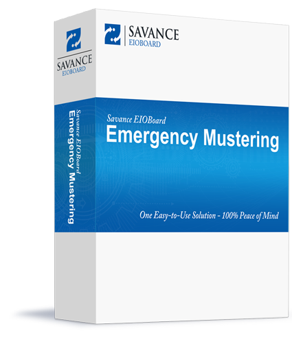 EIOBoard Emergency Mustering Boxshot