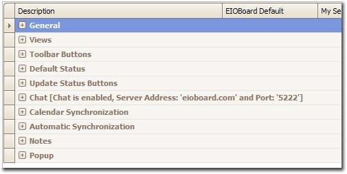 EIOBoard Electronic In Out Board - Company User Settings Guide
