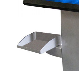 ID Tray Add-On for Kiosk Floor Stand