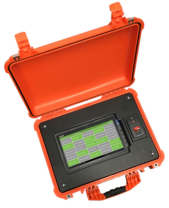 Rugged PoE Muster Case