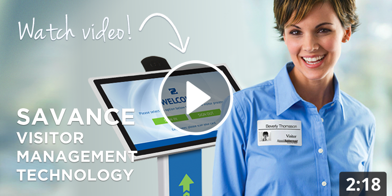 Savance Visitor Management Overview Video