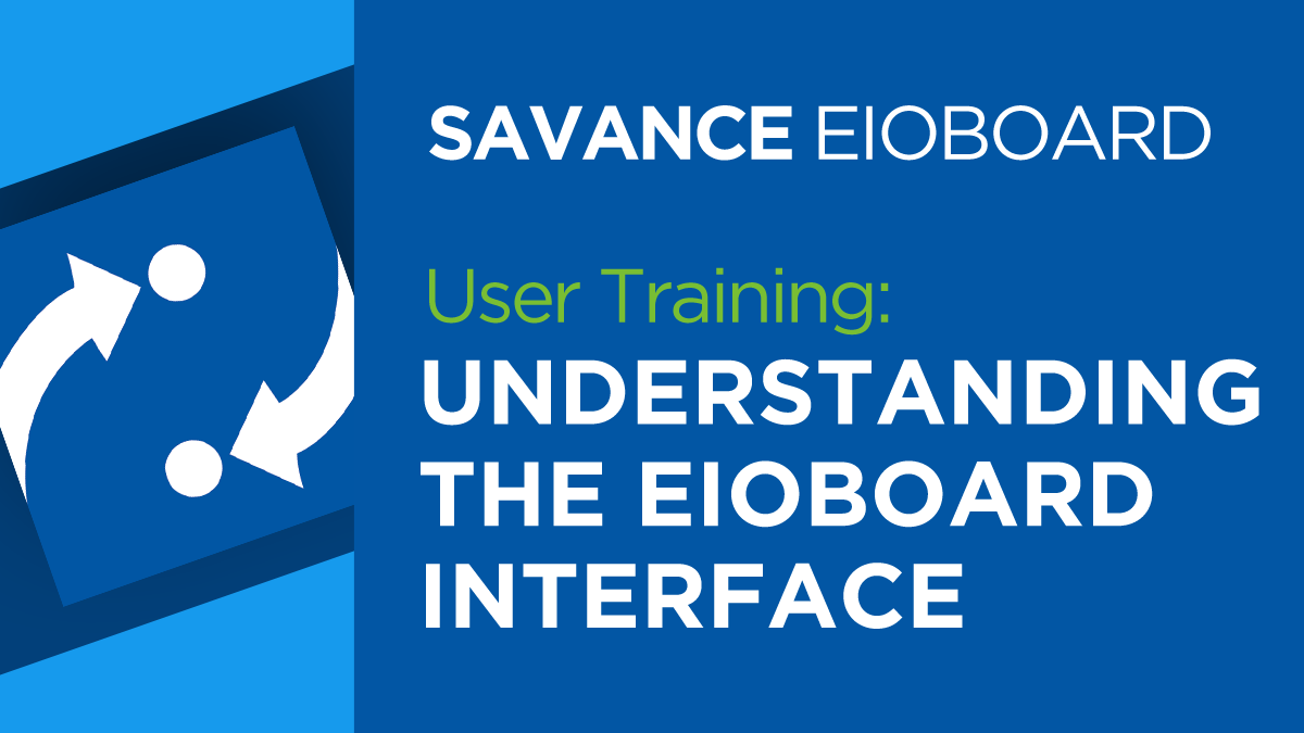 Understanding the EIOBoard Interface