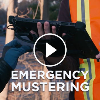 Emergency Mustering - Electronic Emergency Management Solution